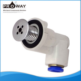 Connect8mm 10 mm junta rápida bañera plana tapa de la boquilla de aire