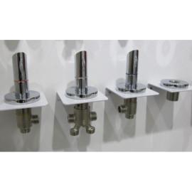 Whirlpool sistema Spa accesorios metálicos de baño - mezclador de la bañera grifo mezclador