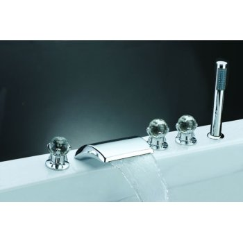 Fregadero de la bañera del canalón de baño grifo de accesorios