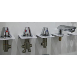 Bañera grifo de la ducha caliente agua fría MixerWhirlpool Tap Set