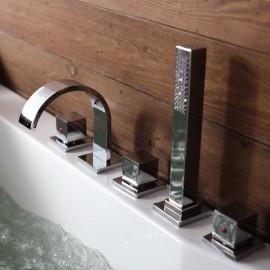 Baño bañera Spa flexión grifo de hidromasaje caño