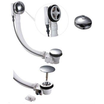 65 mm con pequeño Plug perilla de Control de la bañera escurridor
