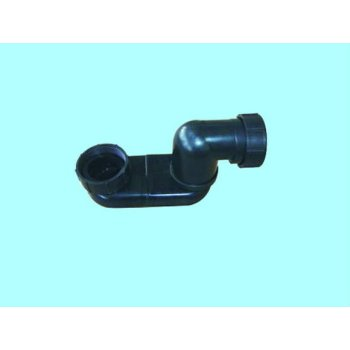 Bañera Flexible sifón drenaje Pipe Fitting codo