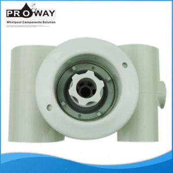 Blanco PVC Body Whirlpool piezas piscina de masaje de chorro