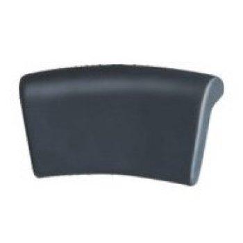 De color gris oscuro PW-05 bañera almohada de baño