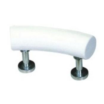 Material de la PU cómoda almohada barato de vuelta ventosa almohada de baño