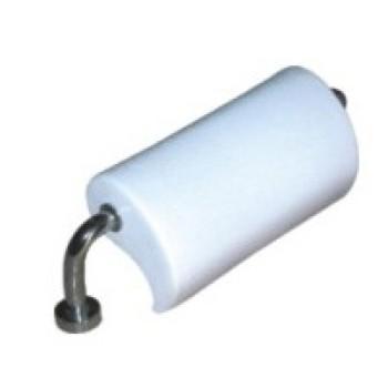 Blanco PVC cómodo cuello almohada