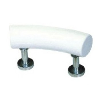 Material de la PU cómoda almohada de baño del cuello almohada