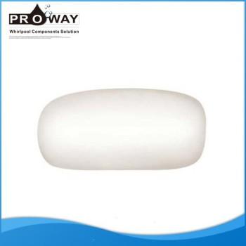 De gama alta PW-01 blanco Spa bañera de hidromasaje bañera almohada