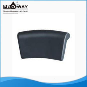 De color gris oscuro PW-05 bañera de hidromasaje bañera de hidromasaje bañera almohada