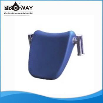 Cómodo azul bañera de hidromasaje bañera de hidromasaje bañera de masaje almohada