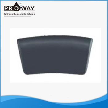 Rectángulo negro almohada de baño Spa bañera de hidromasaje bañera de masaje almohada