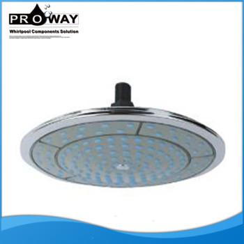 250 mm de diámetro accesorios de ahorro de agua la cabeza de ducha