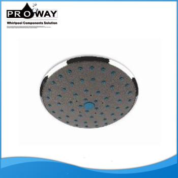 160 mm diámetro accesorios de ducha cascada cabeza de ducha ABS