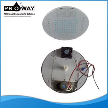 250 mm de diámetro accesorios de mano la cabeza de ducha
