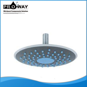 200 mm de diámetro accesorios Led música cabezal de ducha