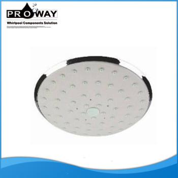 Diámetro 160 mm de ahorro de agua cabeza de ducha