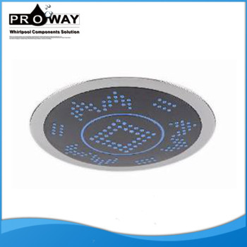 Caliente la venta de diámetro 200 mm de alto flujo de la cabeza de ducha