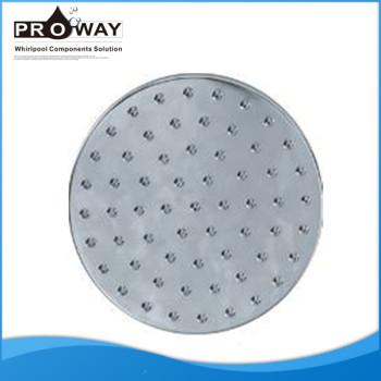 Ducha de arriba de diámetro 160 mm cabezal de la ducha eléctrica