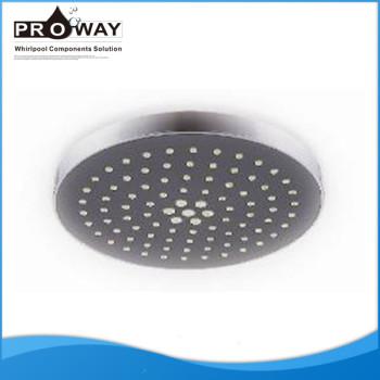 Abs cromado 200 mm de diámetro de la cabeza de ducha