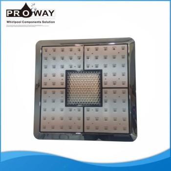 Ahorro de agua LED Top cabeza de ducha