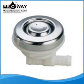 Ducha de chorro de agua de cromo del ABS de chorro de agua de la boquilla de la manguera