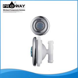 Ducha de chorros de chorro de cromo del ABS alta presión de chorro de agua