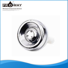 Cuarto de baño de ducha Body Jet cromo ABS lavadora de aire boquilla
