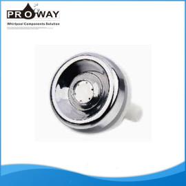 Boquilla de chorro de agua D49mm cromo del ABS Portable de chorro de agua