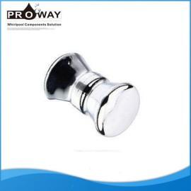 Accesorios de ducha de acero inoxidable de la puerta manijas de palanca