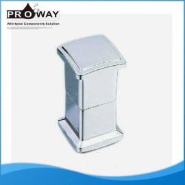 Mango de plástico de ducha cuarto de baño de la manija de puerta