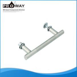 Distancia del agujero 145 mm corredera de cristal moderno cuarto de baño tiradores de las puertas
