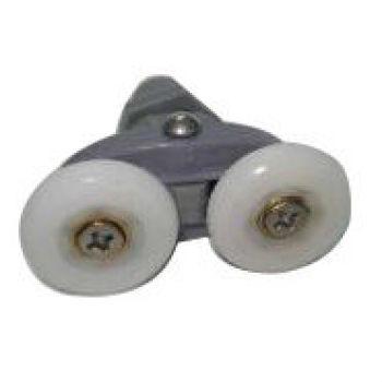 Accesorios para el cuarto de HL-09 cristal de deslizamiento de la rueda de cadena