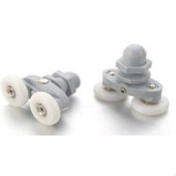 Larga vida útil de plástico de rodillos de deslizamiento con rodamientos de bolas
