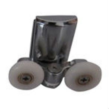 Doulbe rueda de polea ducha corredera polea puerta de la ducha doble rodillo
