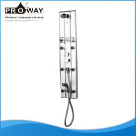 130 * 27 cm de la aleación de aluminio superficie de rociado de Panel de acrílico para ducha