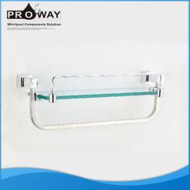 305 mm ss partes de ducha cuarto de baño estante para toalla