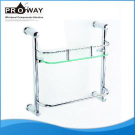 De acero inoxidable accesorios de la ducha ducha toallero habitación