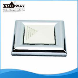 Ducha baño cuadrado ventilación ABS cubierta del ventilador
