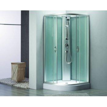 900 x 900 x 2000 mm con ducha de mano especial ducha