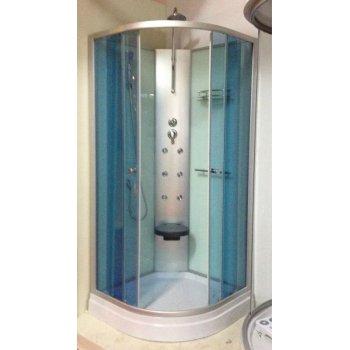 900 * 900 * 2200 mm masaje de plástico cabina de ducha