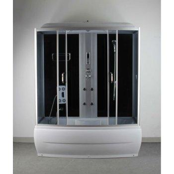 1700 * 850 * 2200 MM en satén de plata de ducha de aire de sala limpia