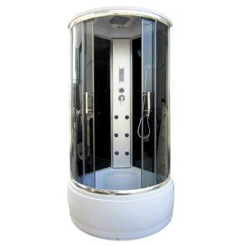 900 * 900 * 2150 mm accesorios de cristal puertas correderas cabina de baño
