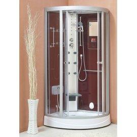 950 x 950 x 2150 mm Red Back Panel cabina de ducha con ducha