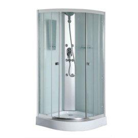 900 x 900 x 2000 mm con blanco pintado aseo vidrio cabina de ducha