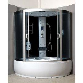 Negro pintado volver cristal auto - limpieza cabina de ducha de vidrio