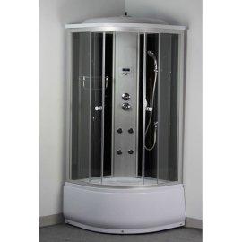 Satén de plata de aluminio ducha