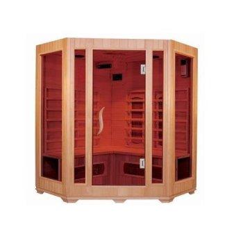Con calentador de fibra de carbono maravilloso Sauna