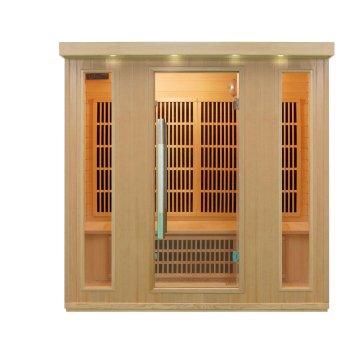 Con reproductor de CD 1750 x 1350 x 1900 mm exterior Sauna sala de vapor
