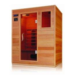 Sn-04 1530 X 1100 X 1900 mm Sauna baño cuarto de madera